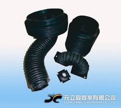 圓型橡膠伸縮護罩